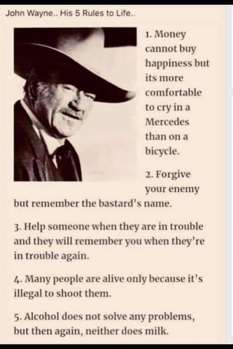 John Wayne Wisdom