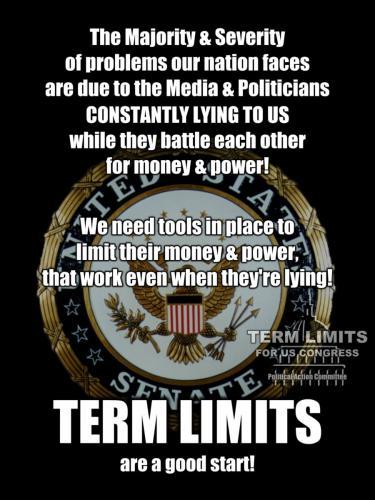 Term Limits NOW!!